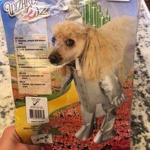 Other - Dog tin man costume